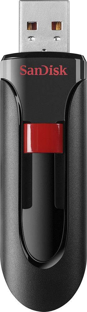 SanDisk - Cruzer 16GB USB 2.0 Flash Drive - Black