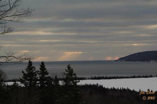 Cape Breton Sunrise, March 19, 2013. Thank you Jim Steele for capturing.