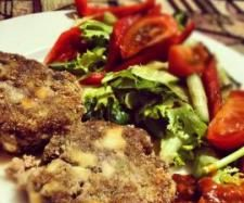 lamb and feta rissoles