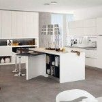 Modern furniture | Kitchen arrangement and choice of colors | http://discount-modern-furniture.com