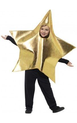 disfraz de estrella navidea infantil