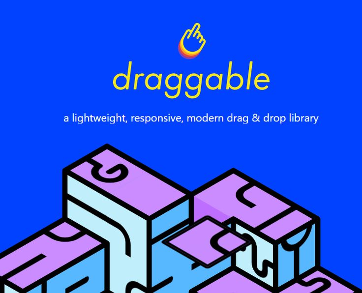 Draggable.js is a free modular Javascript drag and drop library you can use in your apps and websites, allowing you to start small and build up with the features you need. You don't have to use it for fancy stuff. In its basic form Draggable gives you drag & drop functionality, fast DOM reordering, accessible […]