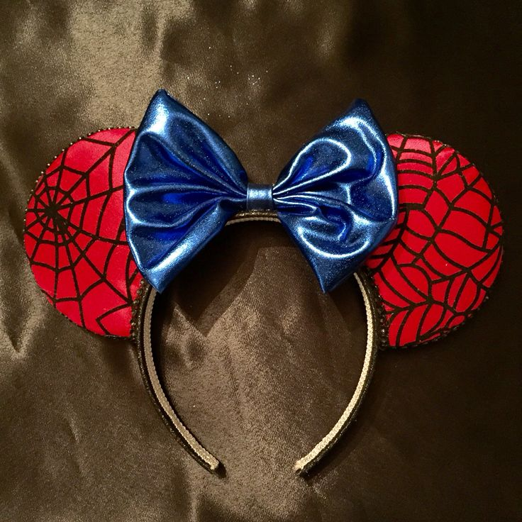 For all you marvel fans, here are some spiderman ears!
