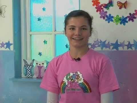 Crafty kids on TV - Zenzele Part 2