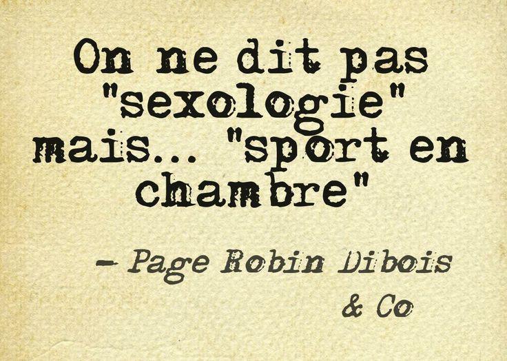 sexologie mais ....
