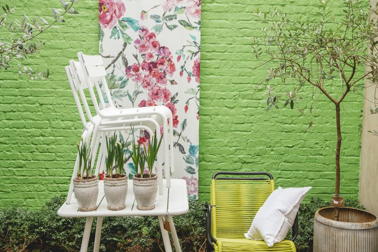 Outdoor furniture available at Designers Guild, Kings road SW3 5EN