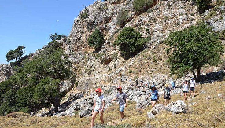 """Escapade à l'Eco Lodge """"Wild Nature"""" Escapade dans l'arrière-pays de #Réthymnon. Découverte à pied, à vélo ou en kayak de mer ! #Crète"""