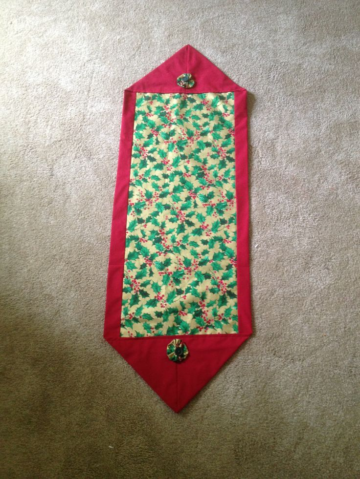 10 minute christmas table runner table runners for 10 min table runner