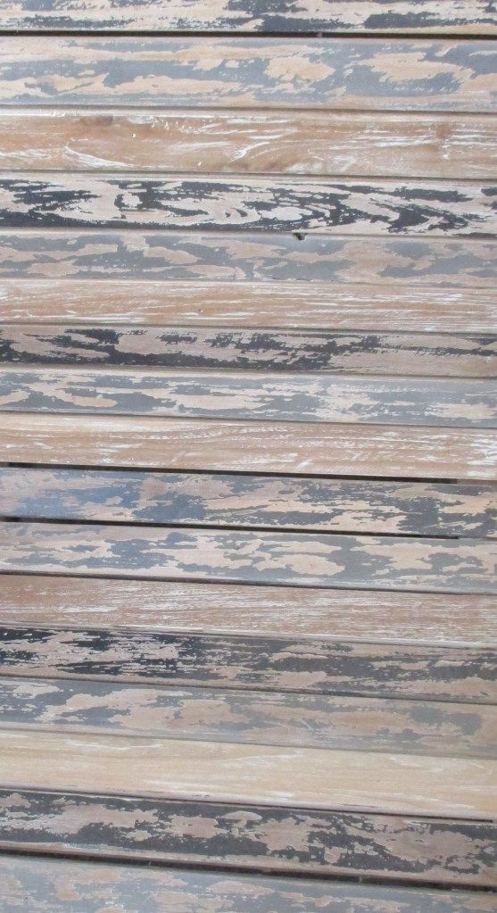 This is one of the suface design of our products. This type of surface is made from recycle wood and the color type is black-brown washed color. It may looks old, but also catchy and vintage. If yo...