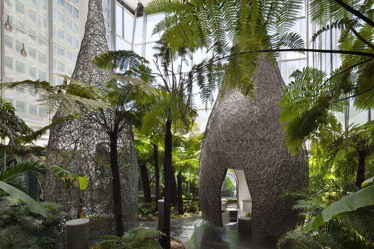 Mutabilis Paysage, Hervé Abbadie · Jardin de la tour Carpe Diem · Divisare