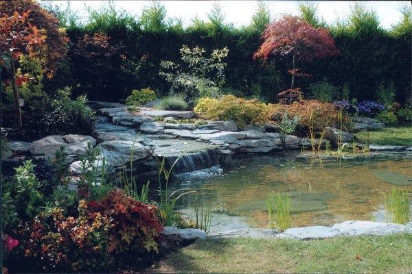 No.6 Lakeland Slate Large Wildlife Water Feature 16ft x 15ft (4.8m x 4.5m)