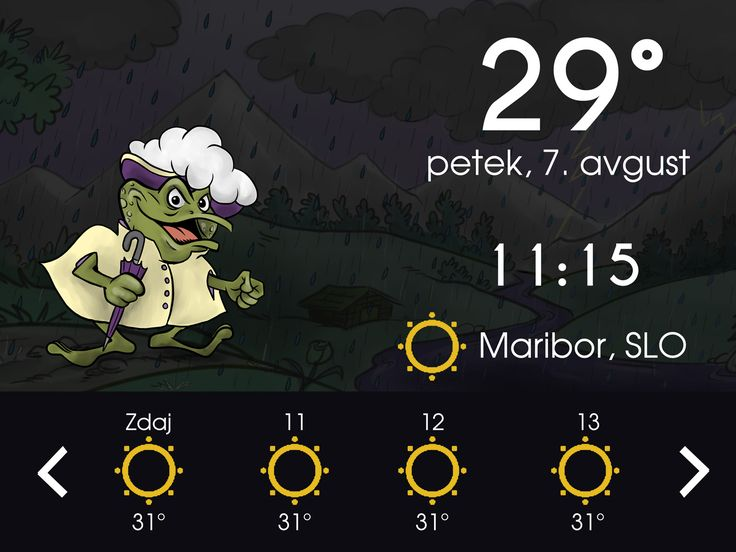 Download the application with the latest widget!