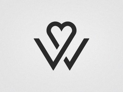Rich Williams - W (wedding logo)