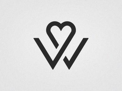 Rich Williams - W (wedding logo)