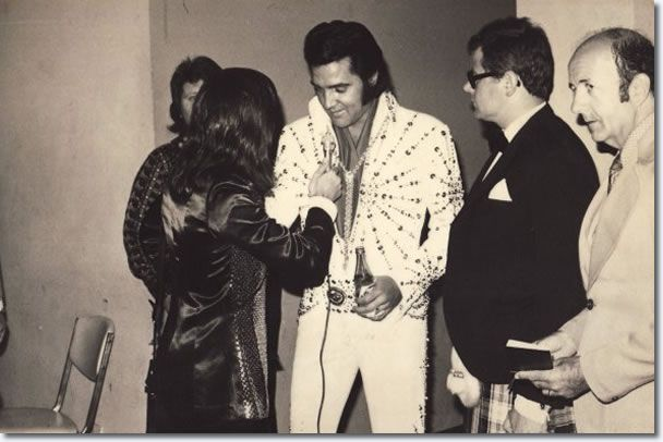 Elvis Presley and Tony Prince.  Tony Prince (born 9 May 1944) is a British radio disc jockey and businessman, remembered for his programmes on Radio Caroline and Radio Luxembourg in the 1960s and 1970s.Radio Luxembourg was the first radio station in Europe to announce Elvis Presley's death.