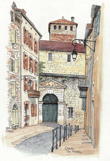 Cahors, rue Feydel | Flickr - Photo Sharing!
