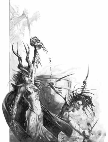 warhammer dark elves art - Buscar con Google