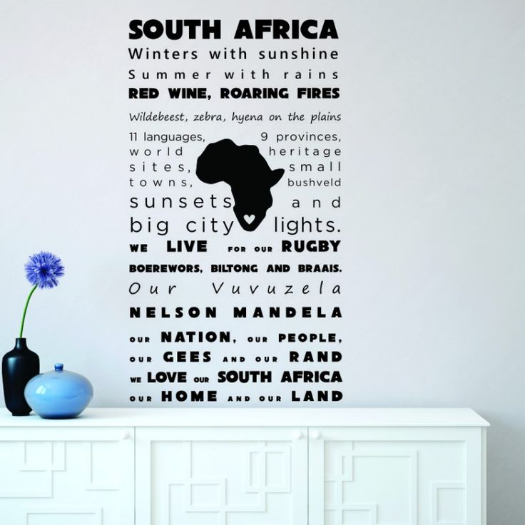 Vinyl Wall Decal | South Africa