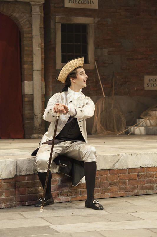 Prove de Il Campiello - I atto - Cavalier Astolfi
