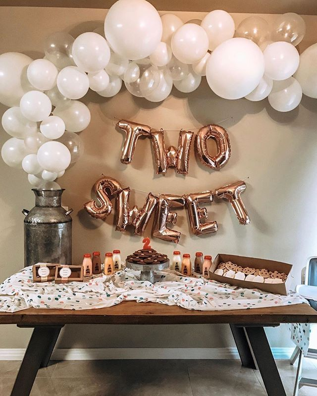 Two Sweet Balloons Donut | Birthday Decor 2nd Birthday Party | Baby Birthday Party | 2nd Birthday Sweet Balloon Letters