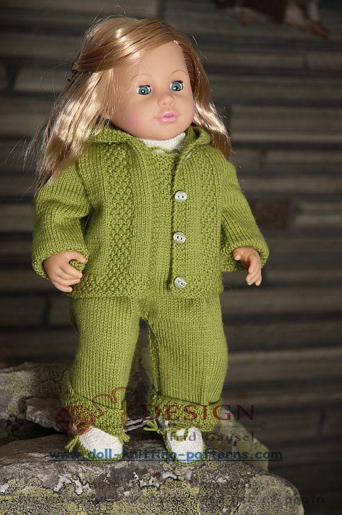 21 besten Puppenkleidung Bilder auf Pinterest   Puppenkleidung ...