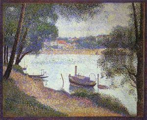 Gray Weather - (Georges Pierre Seurat)