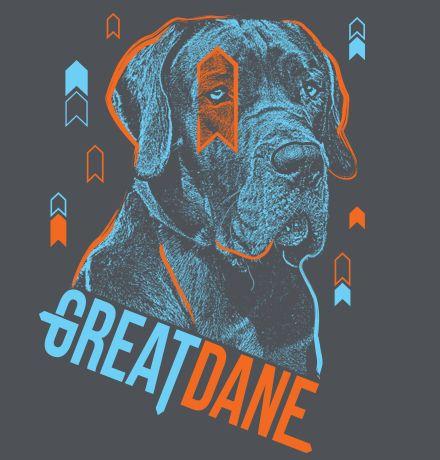 Great Dane Dog Breed T-shirt