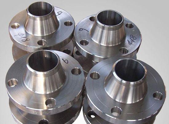titanium welding neck flange