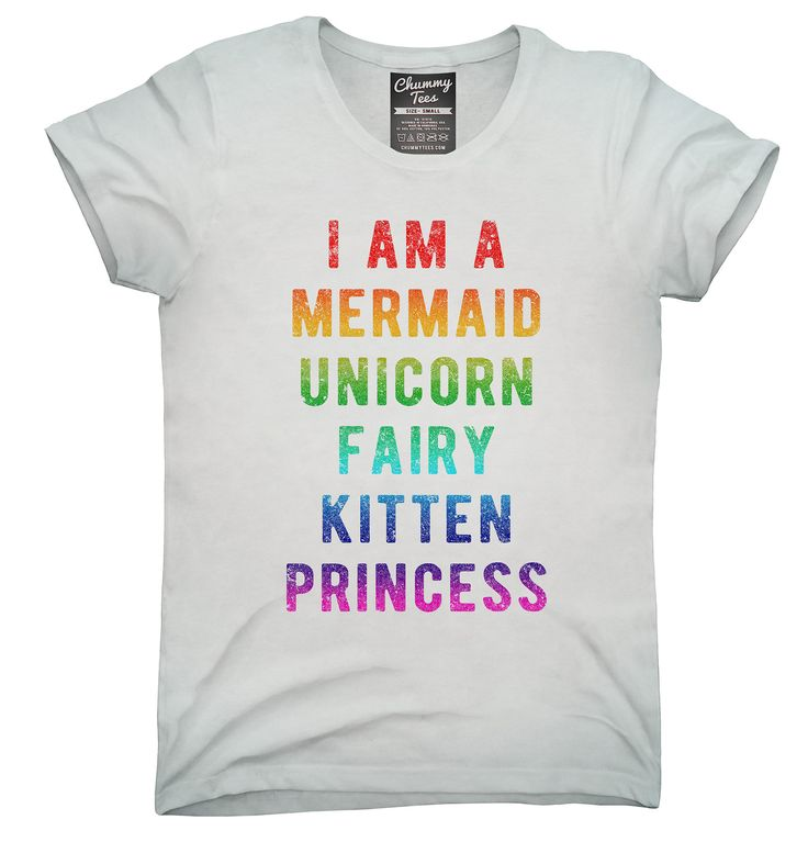 I Am A Mermaid Unicorn Kitten Fairy Princess Shirt, Hoodies, Tanktops