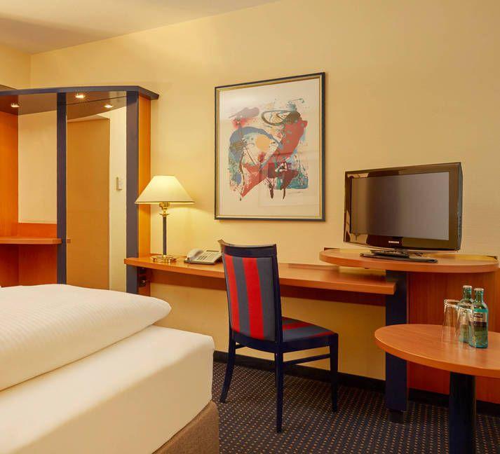 Die gemütlichen Komfortzimmer des H4 Hotel Leipzig