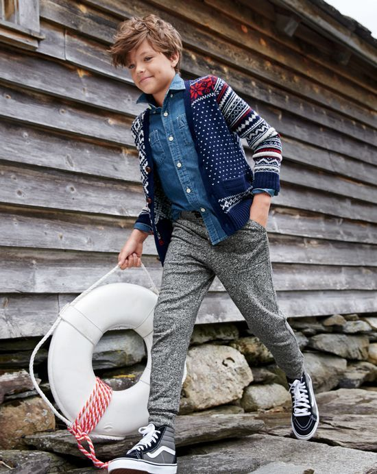 Vans For Kids Boys High Cut