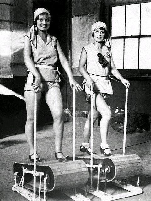 1920 lerde bir spor salonu ve koşu bantları