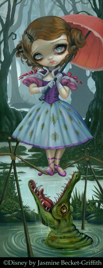 Disneys Haunted Mansion: Tight Rope Girl by Jasmine Becket-Griffith