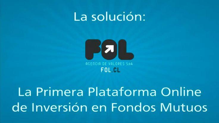 Somos FOL.cl, la Primera Plataforma Online de inversiones en Fondos Mutuos, donde podrás invertir en la mayor oferta del mercado chileno y según tus necesidades.