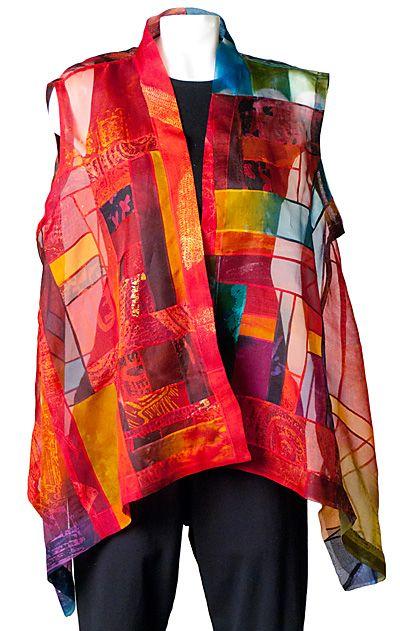 Caryl Gaubatz : Bojagi series clothing