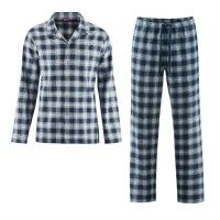 Pijama hombre de franela algodón orgánico Living Crafts