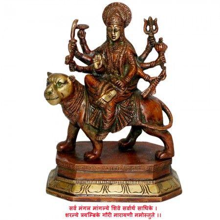 Ambe Maa Buy online Idols, Hindu Dieties Statues Online Vedicvaani.com Buy goddess durga deity idols for navratri jagran, maa ambe statues, sherawali maa murtis Online