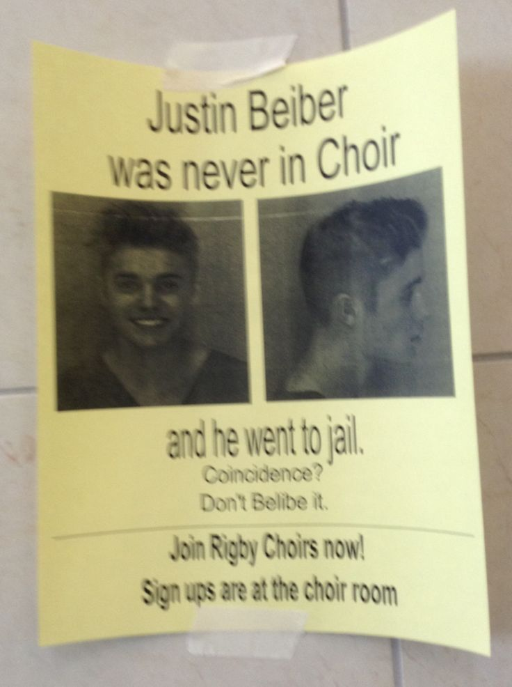 Well played choir, well played!!!!!