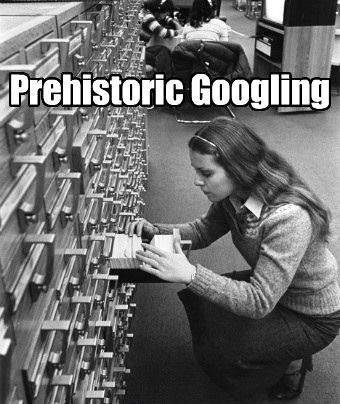 Prehistoric Googling! HAHA #SocialMedia