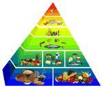 Okinawa food pyramid *(Okinawa boasts the most centenarians world-wide)