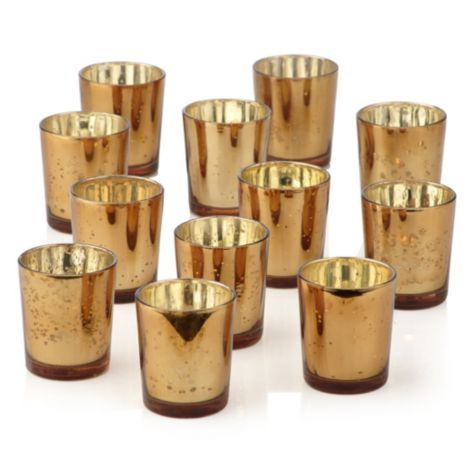– Never used & still in box – Use with standard tea light or votive candles (not included). – Paid $19.99 per box of 12 – 25% discount – Dimensions: Top Diameter 2.5″ Bottom Diameter 2″ Height 2 7/8″ – Care: clean with a dry cloth. **LISTING IS FOR ONE BOX OF 12 VOTIVE CUPS* …