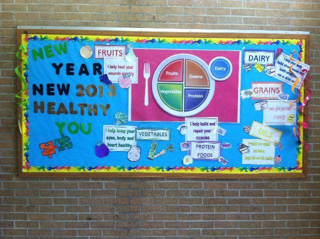 Classroom Bulletin Board Ideas Nutrition Month : Best school nutrition bulletin boards images on