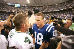 Brett Favre and Peyton Manning