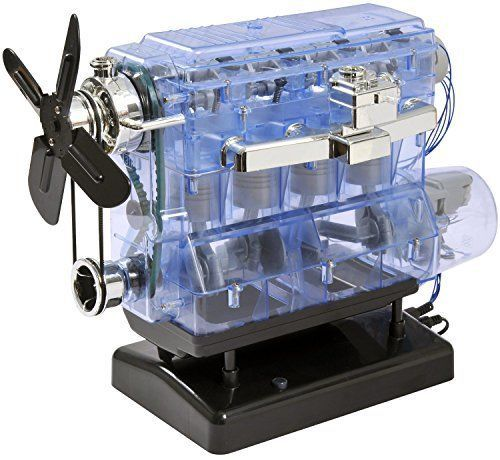 Kids Internal Combustion Engine with Built In Sound Chip for Ages 12