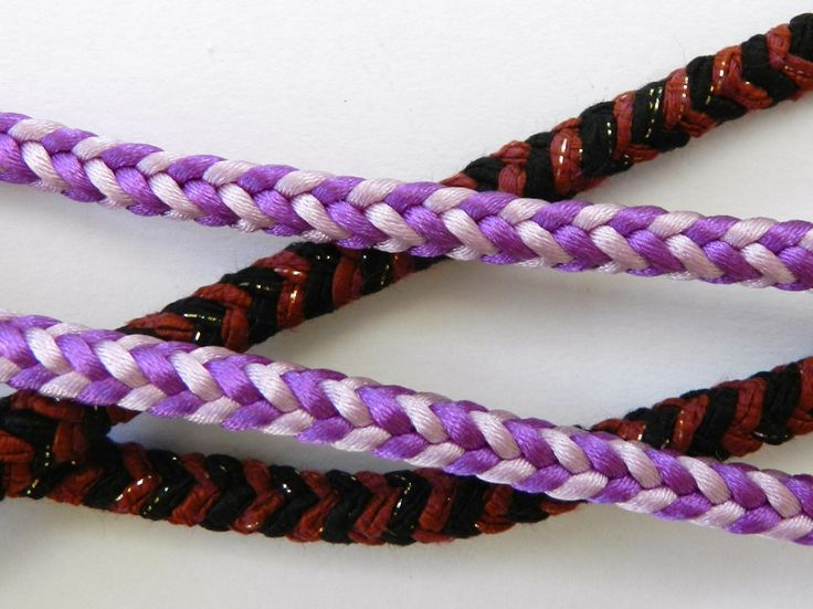 Kumihimo Square Braid Instructions For Jewellery