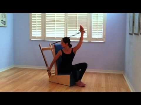 Pilates Arm Chair performed in Sarasota, Florida by Christina Maria Gadar - YouTube