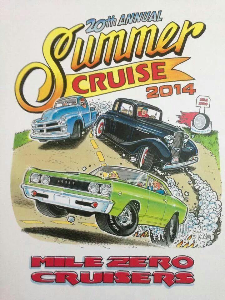 Summer Cruise | CARtoons | Pinterest | Car drawings and Cars