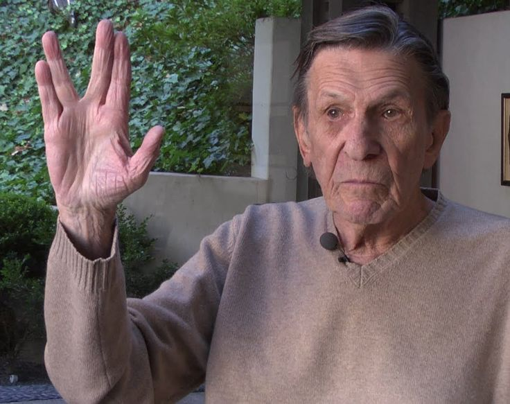 In 2014, actor Leonard Nimoy, who sadly passed away yesterday, explained to the Yiddish Book Center Wexler Oral History Project how his idea for Mr. Spock's Vulcan hand gesture came about during a ...