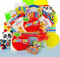 ABC Learn With Me Baby Einstein Gift Basket