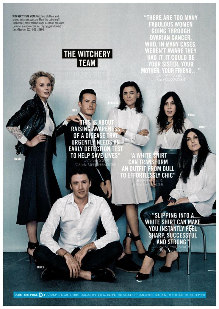 OLE LYNGGAARD COPENHAGEN in Sunday Style Magazine - The White Issue.